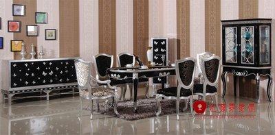 [紅蘋果傢俱] CT-10 新古典金茂系列 長方桌 餐桌  大理石 餐桌椅 可訂製 可改色 工廠直營