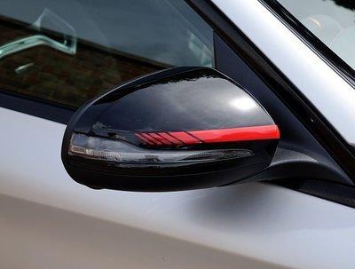 【凱威車藝】Benz 賓士 德國原廠 ED 1 後視鏡 貼紙 多種顏色可選