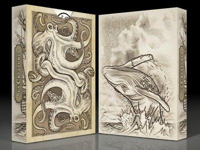 【USPCC撲克】SEVEN SEAS Sea Creatures