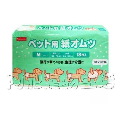 【阿肥寵物生活】日本inuneru - 免洗式寵物專用紙尿褲(生理褲)/M/L
