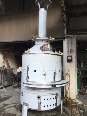 4尺2寸雙門金爐6隻龍、金紙桶、燒金桶、金桶、金爐 、金亭、祖先爐、神明爐、燒金紙桶、不鏽鋼金爐、白鐵金爐、煙囱金爐