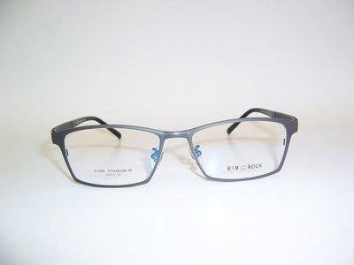 光寶眼鏡城(台南) 一體面純鈦IP造型眼鏡*專利彈簧腳,人體工學加寬弧度腳, R9017/C8,腳長142mm