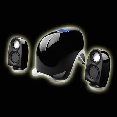 5Cgo 【發燒友】Edifier/漫步者 E1100MKII臺式電腦音響低音炮多媒體音箱重低音高光處理  二色任選