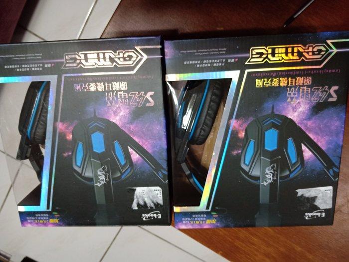 3C-陳姐-E-books S42電競頭戴耳機麥克風......每個NT$ 330 (限量2台,  含運)