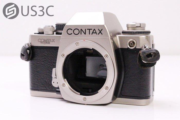 【US3C-台中店】CONTAX S2 Body 60週年特別版 鈦金屬 機械式快門 電子測光 Y/C卡口 二手底片相機