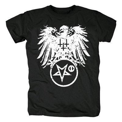 新品芬蘭Satanic warmaster惡魔的戰帥黑金屬重金屬logo流行T恤