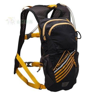 【山野賣客】NATHAN Firestorm二鐵專用水袋背包(2L)黑 透氣網布 反光 附頭盔環 NA5033NB