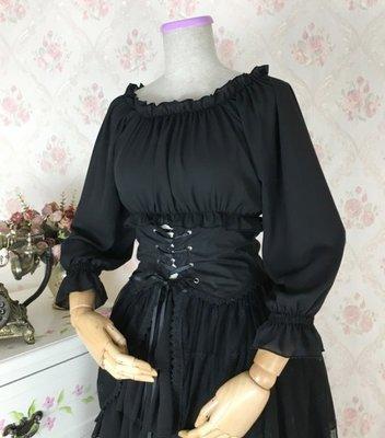 洋裝女新款lolita洋裝雪紡內搭軟妹...