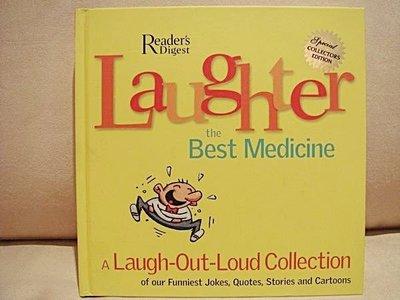 全新從未看過的原文書【Laughter The Best Medicine】笑話集錦,低價起標無底價!免運費!