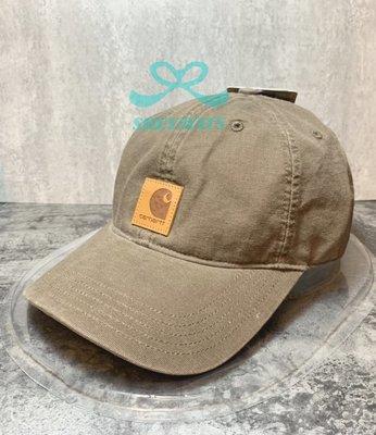[SREY帽屋]現貨*CARHARTT 水洗老帽 皮標貼布 美國進口 老帽 棒球帽 工裝首選!