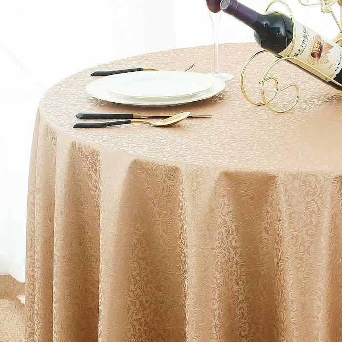 熱賣款歐式防水免洗桌布酒店飯店餐廳家用圓形大圓桌餐桌布臺布布藝#布#墊子#簡約