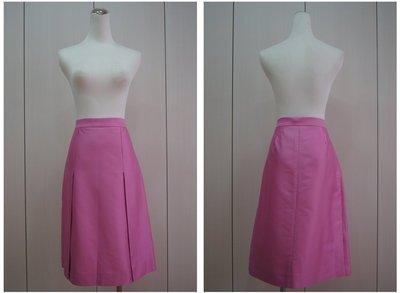 Valentino Roma  桃紅素面兩片裙   原價  22000    特價  4200