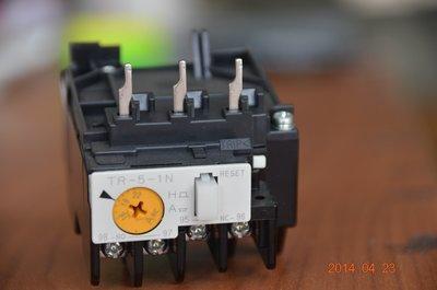Fe富士 熱動過負載電驛 TR-5-1N、積熱繼電器 積熱電驛 O.L、TH-RY、Overload relay