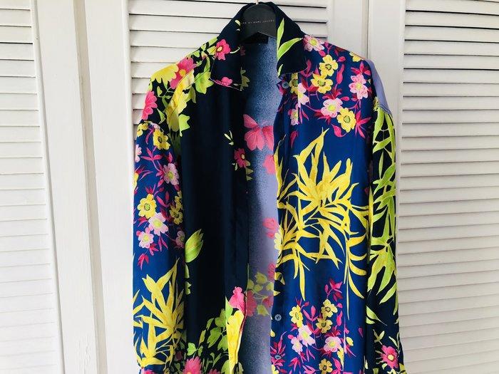 Versus 熱帶花園長版襯衫