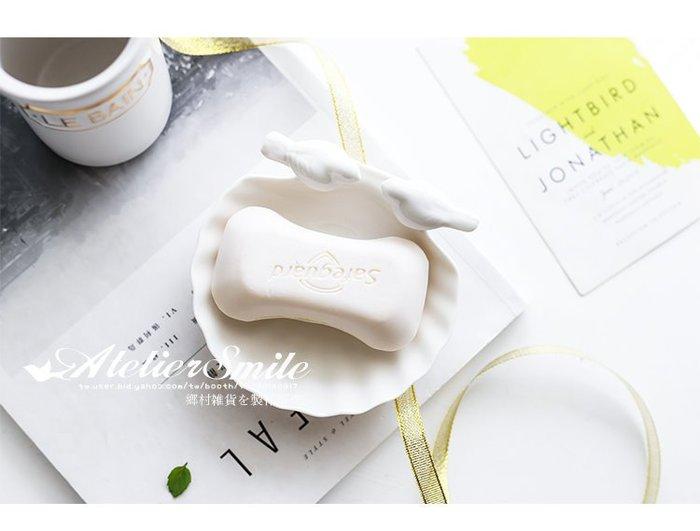 [ Atelier Smile ] 鄉村雜貨 美式家居 陶瓷製 鳥兒肥皂盤 首飾盤 菸灰缸 (現+預)