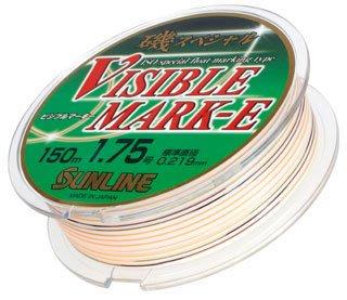 《三富釣具》SUNLINE Visible Mark-E 五彩尼龍母線 150M 2.5號(其它號數已售完)