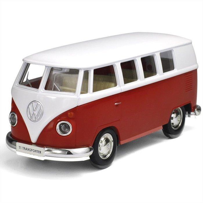 [Jugar夢想館] RMZ CITY Volkswagen T1 Transpor 福斯授權合金迴力車玩具