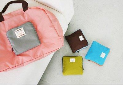 *YOOWOO*C特賣【韓國正品空運 ICONIC Street Shopper 夏日氣息 輕便小巧 防水購物袋~ 粉】