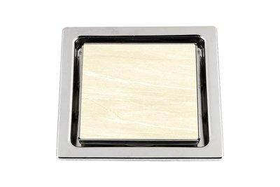 [ 家事達 ]雅麗家ERIC-PK630A  磁磚不鏽鋼集水槽 ( 防臭小丸子) 特價 (不含圖中磁磚)