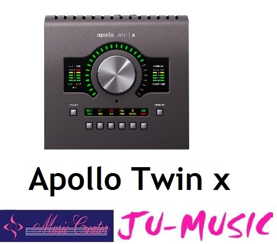 造韻樂器音響- JU-MUSIC - Universal Audio Apollo Twin X Thunderbolt