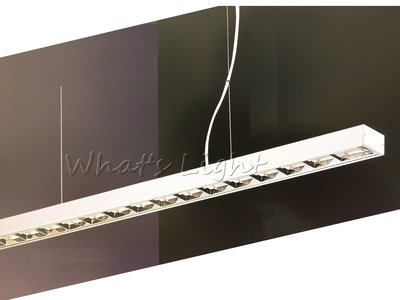 划得來LED燈飾~現代時尚高質感 T5 28W*1 鋁格柵吊燈 OA辦公室照明 另有吸頂式軌道式日光燈 (P60321)