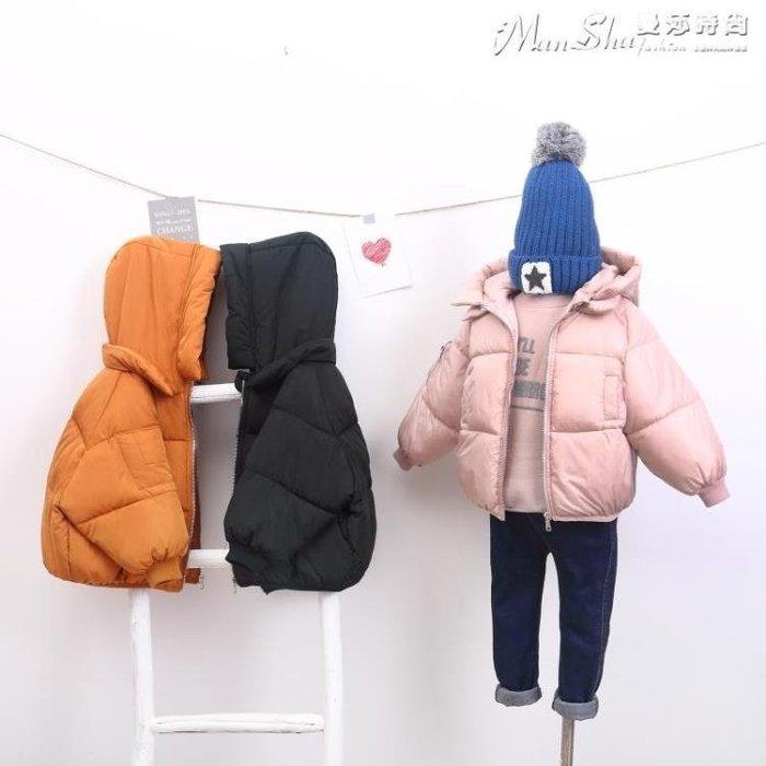 女童羽絨服2018新款加厚兒童羽絨棉服男女童外套寶寶上衣短款面包服嬰兒