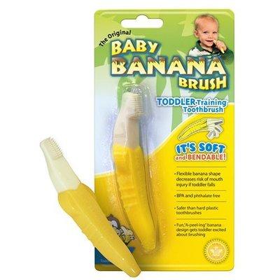 美國Baby Banana Brush 香蕉造型軟性學習牙刷 1入 現貨