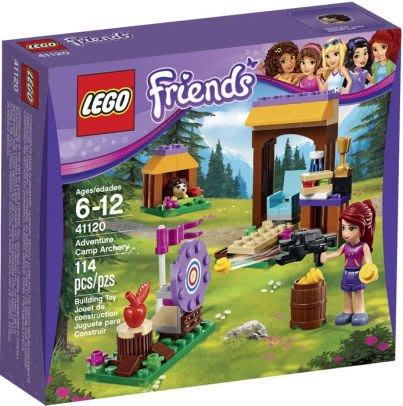 【痞哥毛】LEGO 樂高 41120 Friends 好朋友 冒險營射箭場 全新未拆