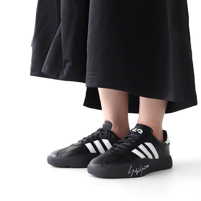 【路克 Look】愛迪達 Adidas Y-3 TANGUTSU EF2616 山本耀司 黑色 白色 皮革 女鞋 男鞋