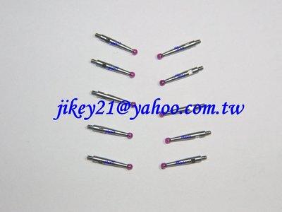 Mitutoyo/TESA/GIROD槓桿錶探針測頭/-紅寶石-紅寶石探針-3D量錶探針@買10贈1-量多價可議