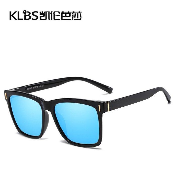 [凱倫芭莎]2003眼鏡鏡框墨鏡太陽眼鏡鏡片新款偏光男士TR90太陽鏡釣魚駕駛戶外超輕墨鏡米釘太陽眼鏡1945118