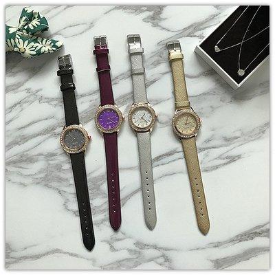 手錶 配飾 新款 復古表學生小巧精致腕表 數字刻度閃耀水鉆手表女