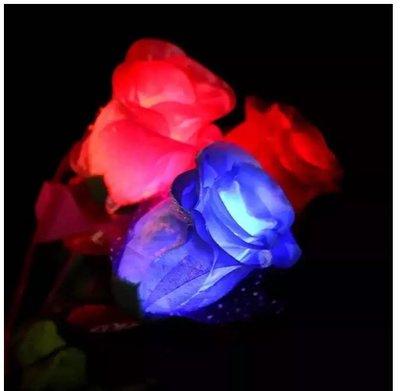 情人節必備 發光LED玫瑰花束 ❤ 活動演唱會晚會 求婚用具 贈品 玫瑰花 聖誕節 派對 貓耳朵 髮箍 髮圈