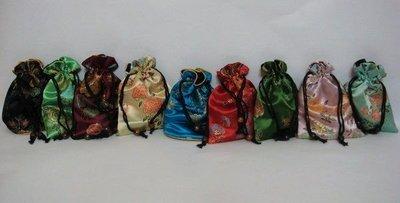 【佳樺束口袋2舖】復古中國風束口袋客製.彩色束口袋.復古風束口袋批發