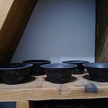 (00357)手拉坯柴燒小水杯