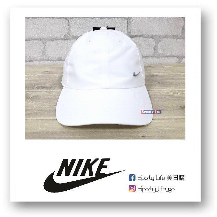 【SL美日購】NIKE Metal Swoosh Cap NIKE經典老帽 帽子白色 棒球帽 運動帽 高爾夫球帽 鐵片