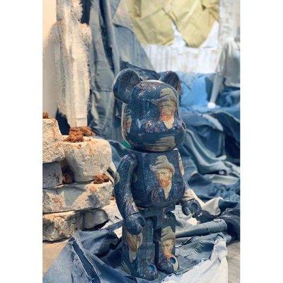 【日貨代購CITY】BE@RBRICK Van Gogh Museum 梵谷自畫像 1000% 庫柏力克熊 現貨