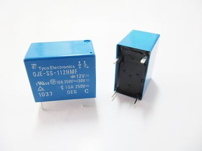『正典UCHI電子』TE Connectivity / OEG 繼電器(OJE-SS-112HMF) DC12V 10A
