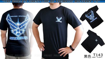 【ARMYGO】美國 7.62 軍事T恤 - 空軍系列 -USAF 'FLIGHT