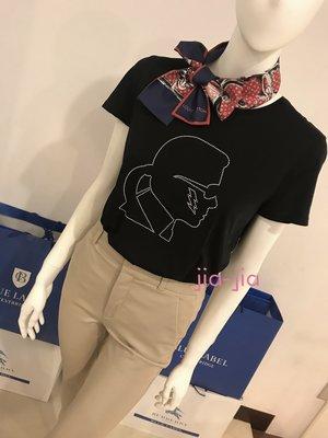 Karl Lagerfeld 卯丁卡爾黑色T ,  XS 現貨sale
