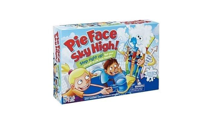 【W先生】Pie Face sky High 站立 瘋狂砸派機 砸奶油機 大槌王 大力搥 槌子 桌遊 敲冰 惡犬