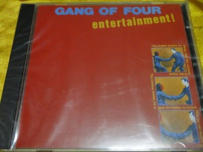 Gang of Four -- Entertainment!
