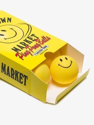 CHINATOWN MARKET PING PONG BALLS 桌球 乒乓球 笑臉 GCTC