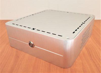 立人 Q8 加厚全鋁合金 迷你機殼 含電源 變壓器150W ATX電源版250W ITX機殼 3.5吋硬碟