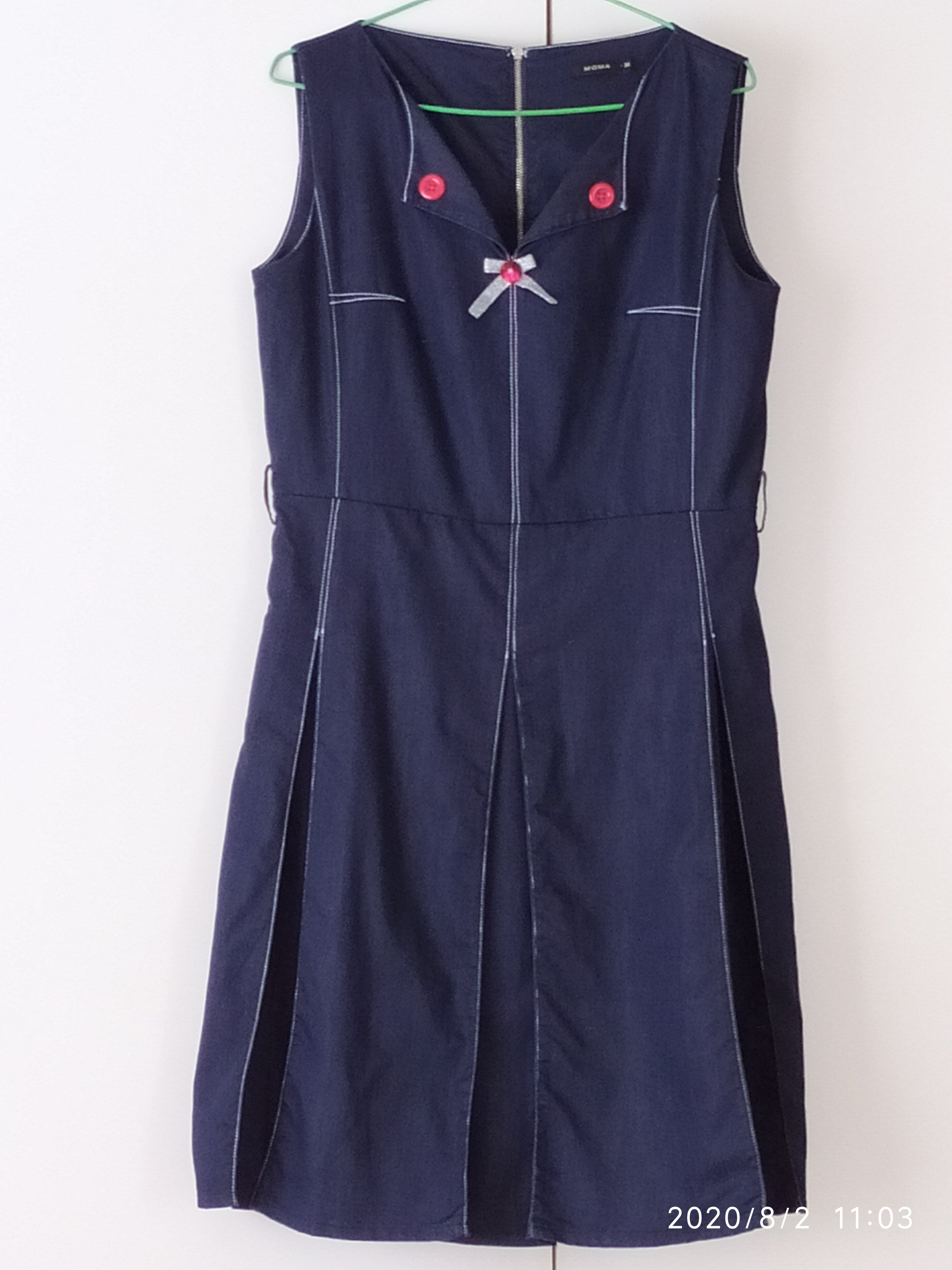 Moma 深藍牛仔布洋裝