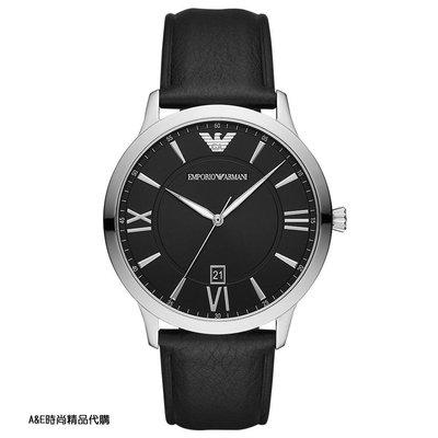 A&E精品代購EMPORIO ARMANI 阿曼尼手錶AR11210 經典義式風格簡約腕錶 手錶