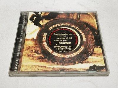 昀嫣音樂 (CD2) BRYAN ADAMS SO FAR SO GOOD片況如圖 售出不退 可正常播放