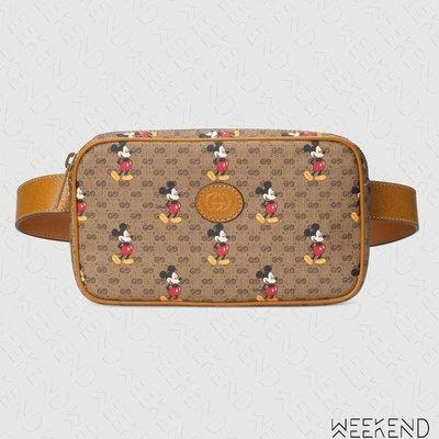 【WEEKEND】 GUCCI x DISNEY 迪士尼 聯名 米奇 Belt Bag 腰包 胸口包 602695