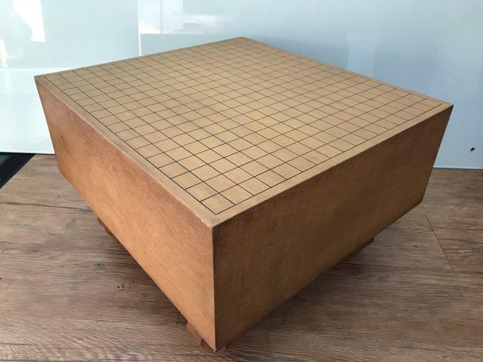 【JP.com】日本中古 木製圍棋棋盤 碁盤 厚17.2cm E1226-A03