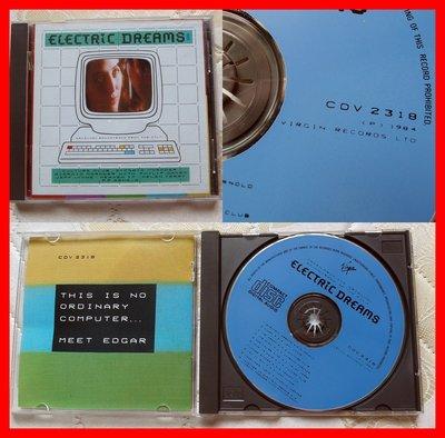 ◎1984年版本-神通情人夢-電影原聲帶-Electric Dreams-等10首-virgin◎文化俱樂部AAD-CD